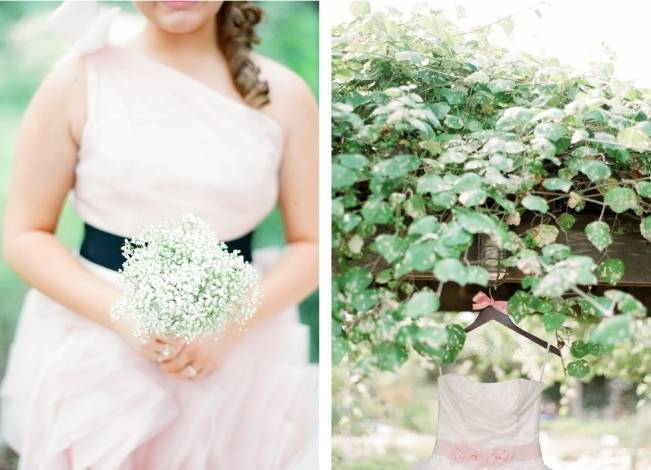 Organic Blush Wedding at The LBJ Wildflower Center in Austin, TX 3