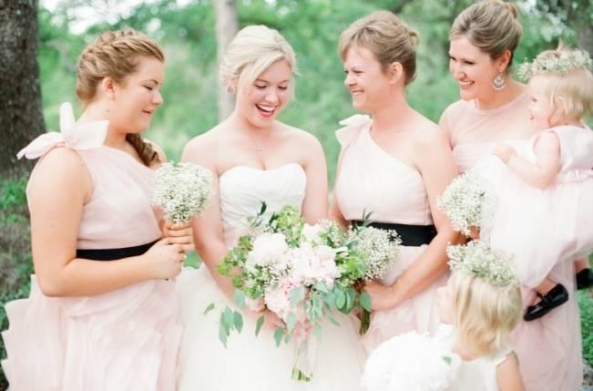 Organic Blush Wedding at The LBJ Wildflower Center in Austin, TX 6
