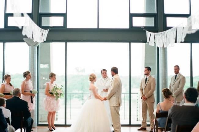 Organic Blush Wedding at The LBJ Wildflower Center in Austin, TX 9