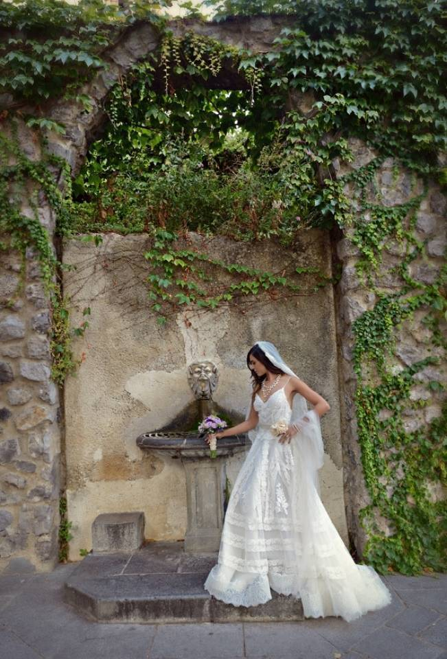 Romantic Positano, Italy Bridal Shoot 5