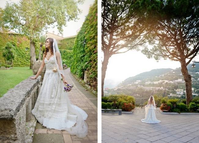 Romantic Positano, Italy Bridal Shoot 8