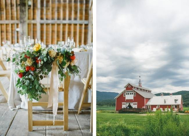 Romantic Vermont Wedding at West Monitor Barn - amy donohue photography 19
