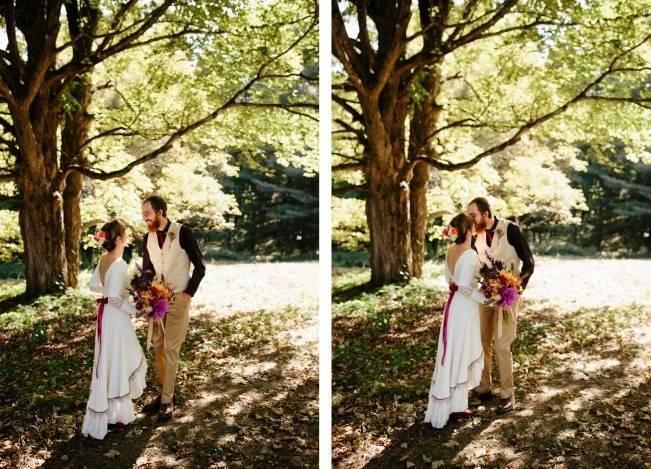 Folksy Supermoon Farm Wedding in Vermont 11