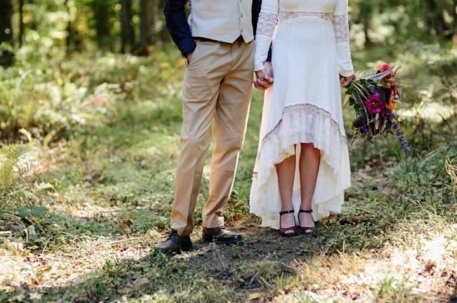 Folksy Supermoon Farm Wedding in Vermont 12