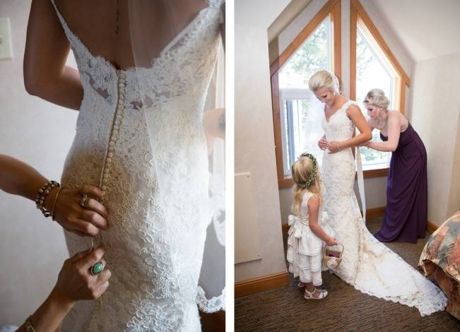 Plum & Nude Rustic Mountain Wedding - Melanie Bennett Photography 2