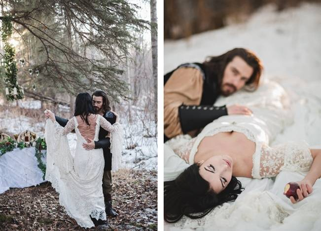 Snow White & The Huntsman Styled Wedding Shoot 15
