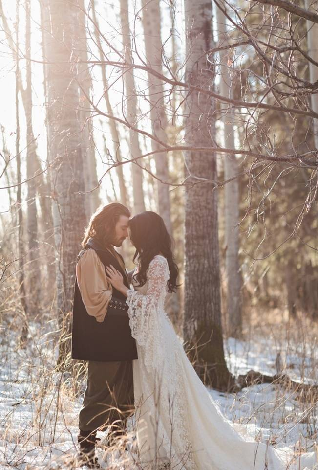 Snow White & The Huntsman Styled Wedding Shoot 17