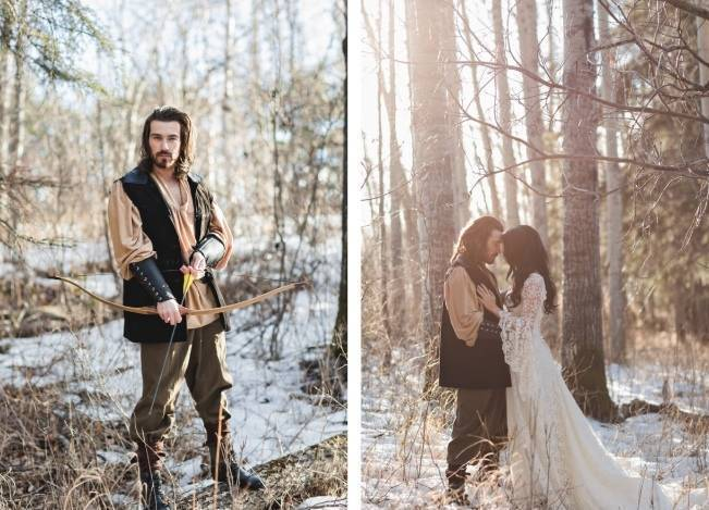 Snow White & The Huntsman Styled Wedding Shoot 2