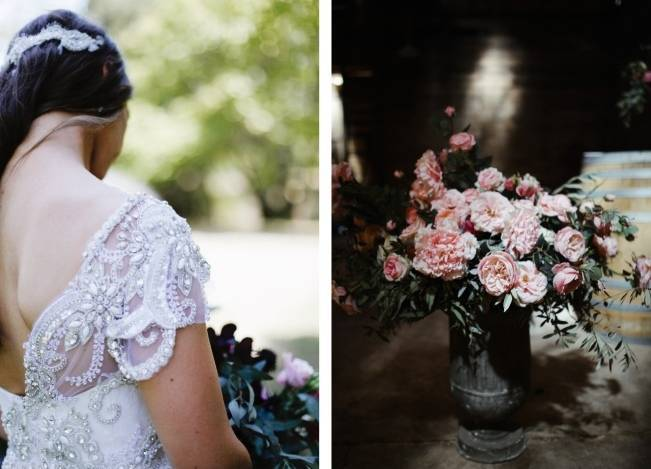 Anna Campbell's Intimate Rustic Wedding 13