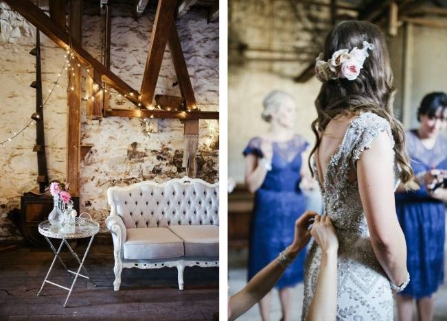 Anna Campbell's Intimate Rustic Wedding 16