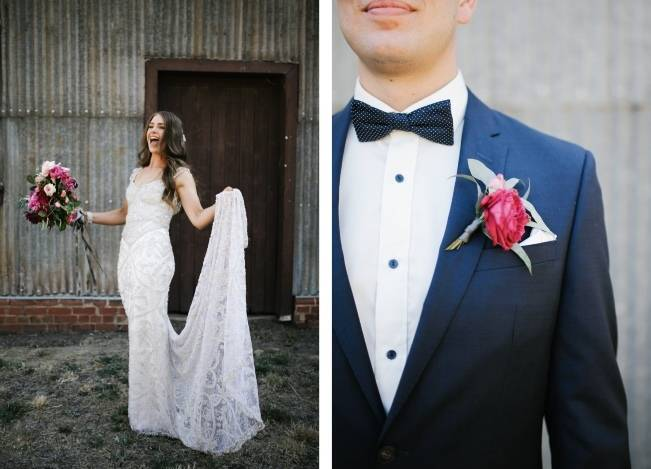 Anna Campbell's Intimate Rustic Wedding 27