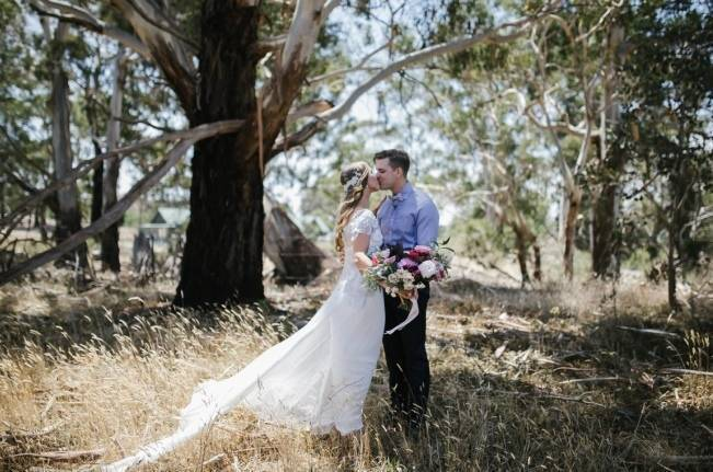 Anna Campbell's Intimate Rustic Wedding 5