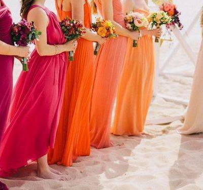 Wedding Color Palette: Sunset