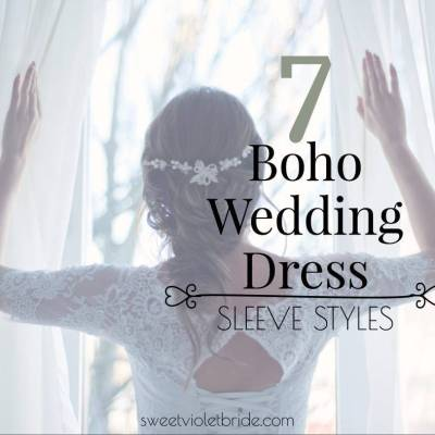 6 Boho Wedding Dress Sleeve Styles