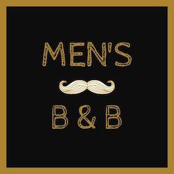 Men's B&B website cover graphic