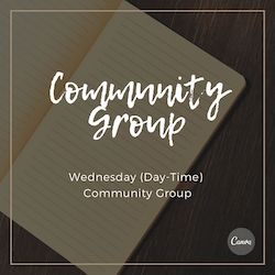 Community Group wesbite cover