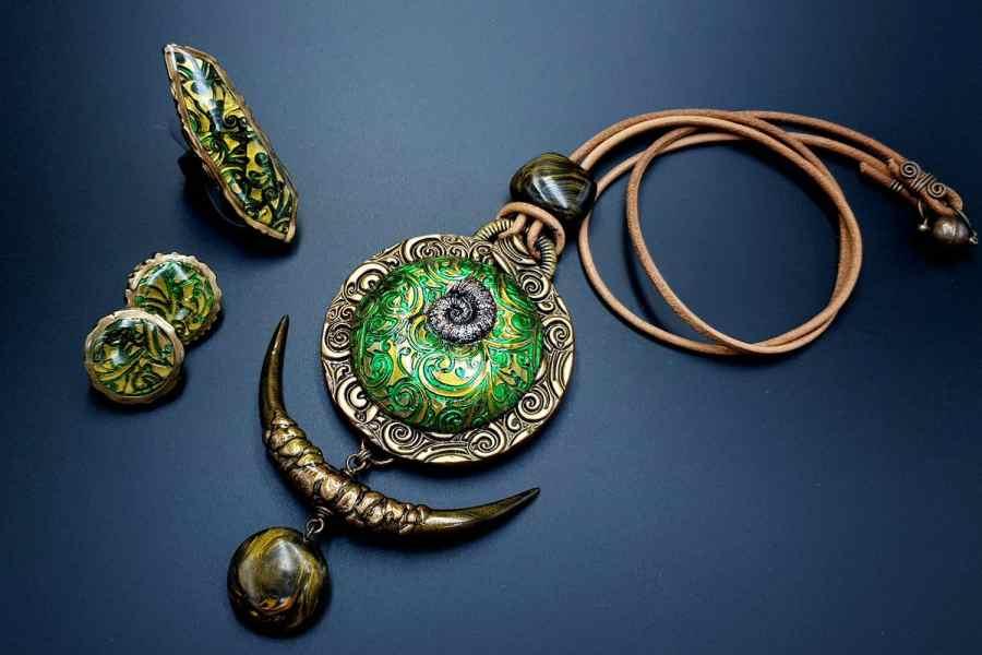 East Ethnics Jewelry Set 09