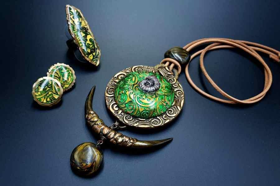 East Ethnics Jewelry Set 10