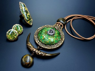 Jewelry by Ludmila Bakulina
