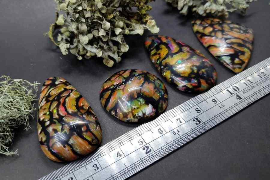 Faux Boulder Opal Set 01 p03
