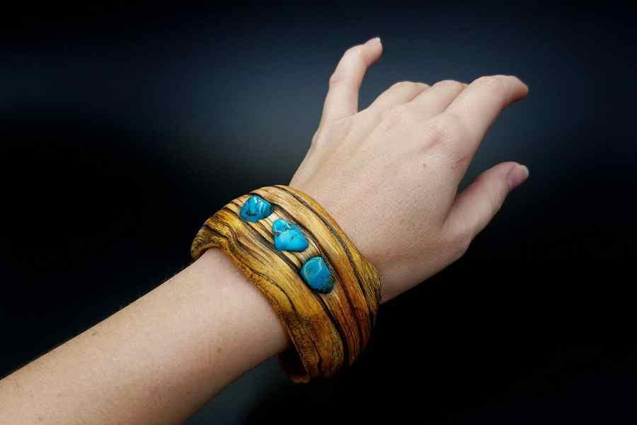 Product Drift Wood Bracelet Cuff 09