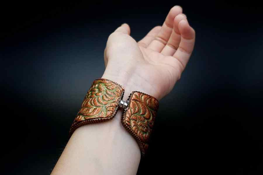 Product Petoskey Stone Bracelet Cuff 08