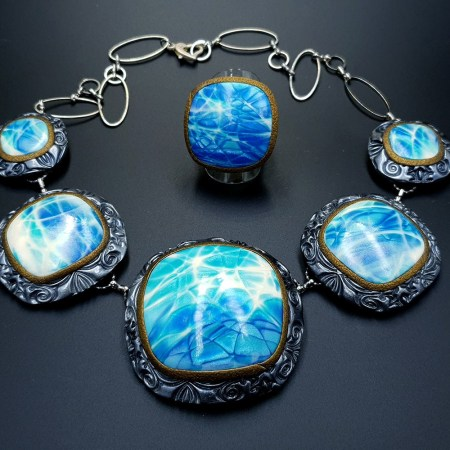 """""""Under the Water"""" Jewelry Set"""