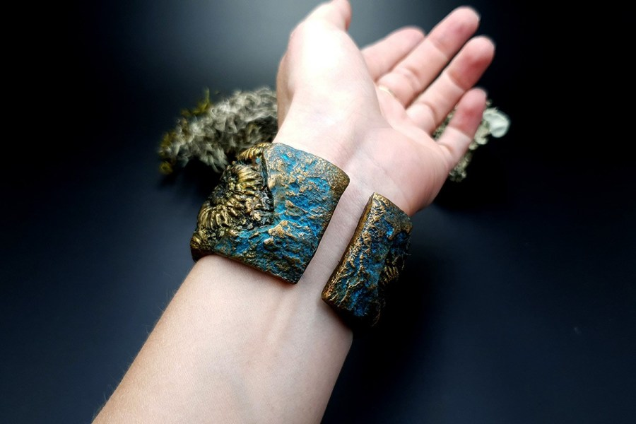 Bracelet Cuff Ammonites img11