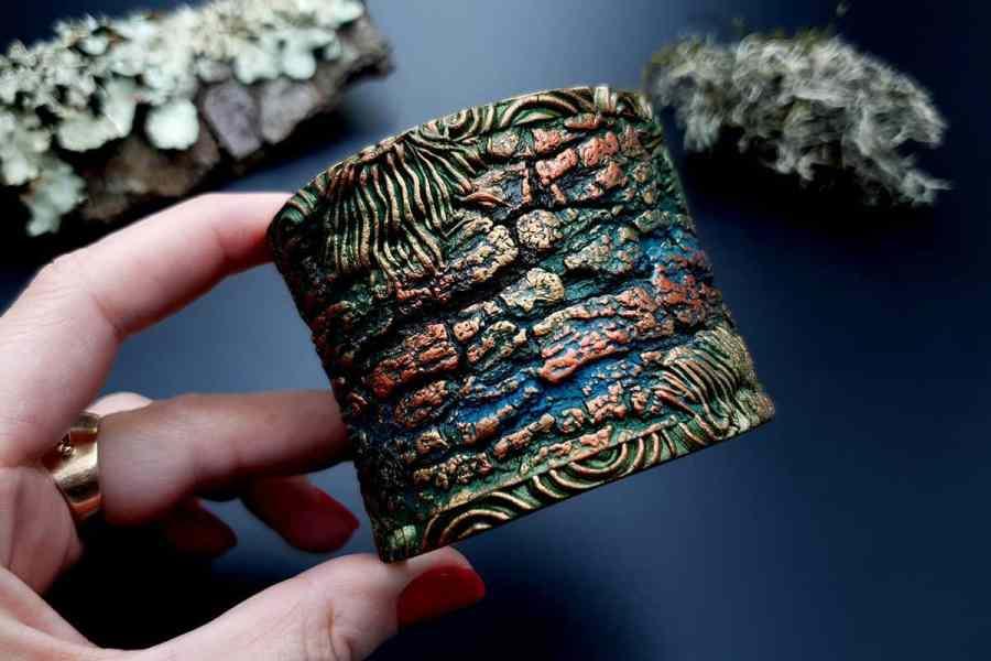 Bracelet Cuff Forest Treasure 20191012_134446