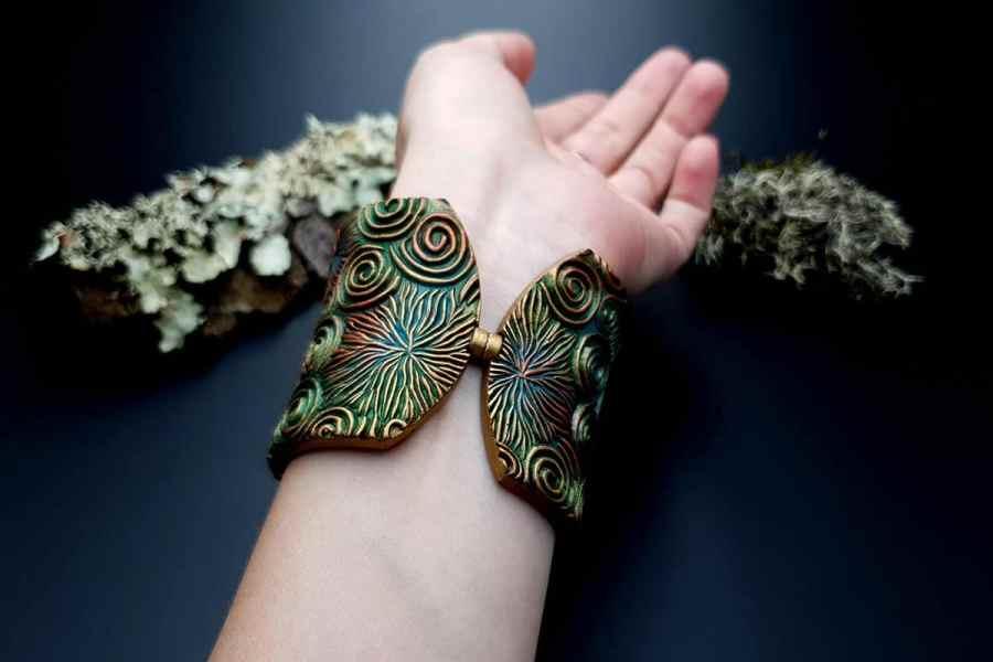 Bracelet Cuff Forest Treasure 20191012_135611