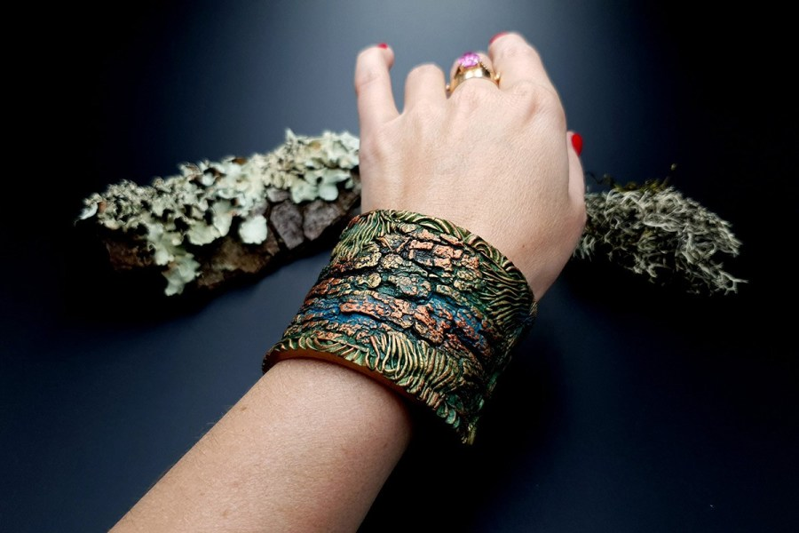 Bracelet Cuff Forest Treasure 20191012_135624