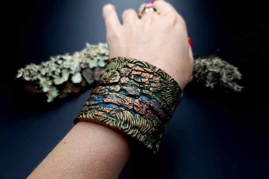 Bracelet Cuff Forest Treasure 20191012_135630