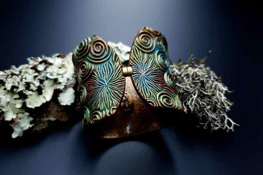 Bracelet Cuff Forest Treasure 20191012_135715