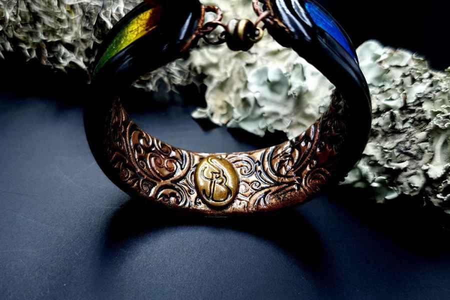 Bracelet Cuff Rainbow Dreams img08