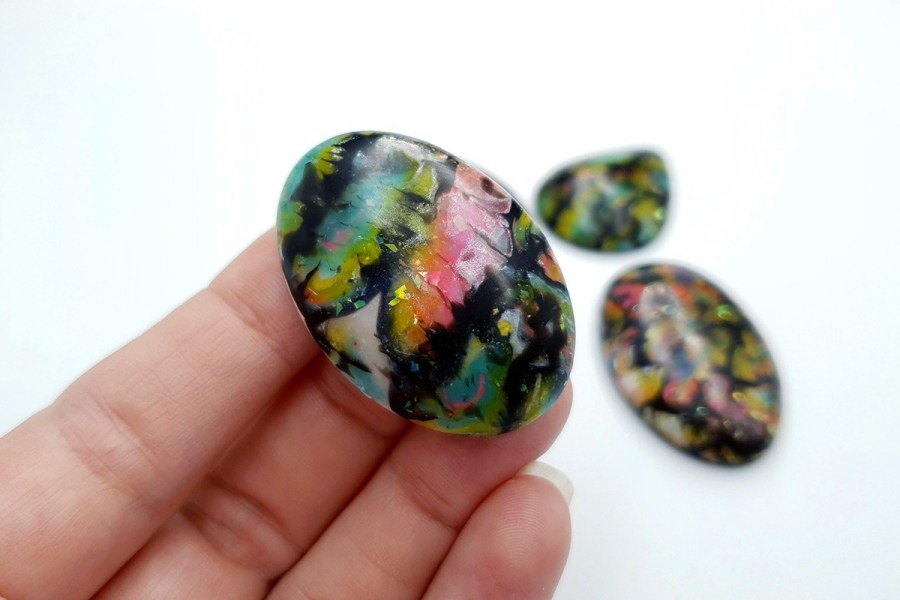 Faux Boulder Opal Set 02 p04