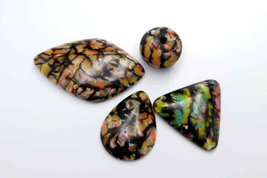 Faux Boulder Opal Set 04 p01