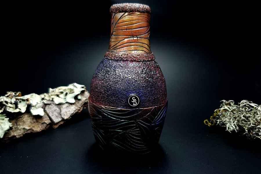 Faux Raku Style Vase 20191012_211210