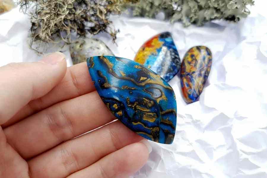 Labradorite Pietersite Stone Mix 20191006_132341