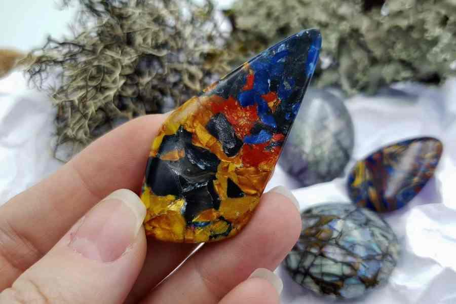 Labradorite Pietersite Stone Mix 20191006_132722