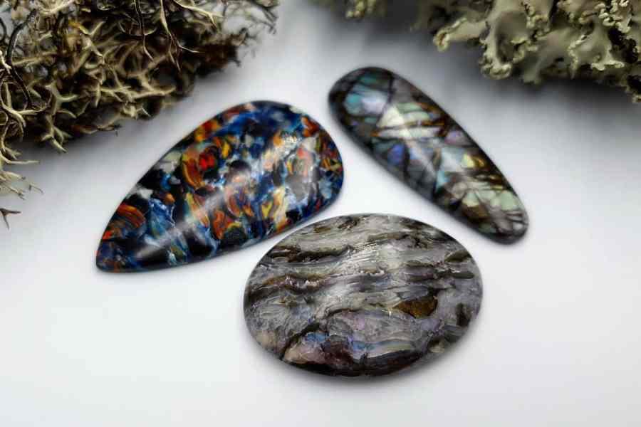 Labradorite Pietersite Stone Mix 20191006_134018