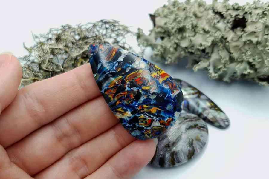 Labradorite Pietersite Stone Mix 20191006_134259