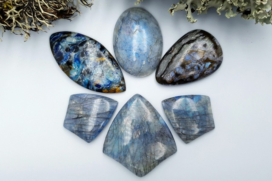 Labradorite Pietersite Stone Mix 20191006_134531