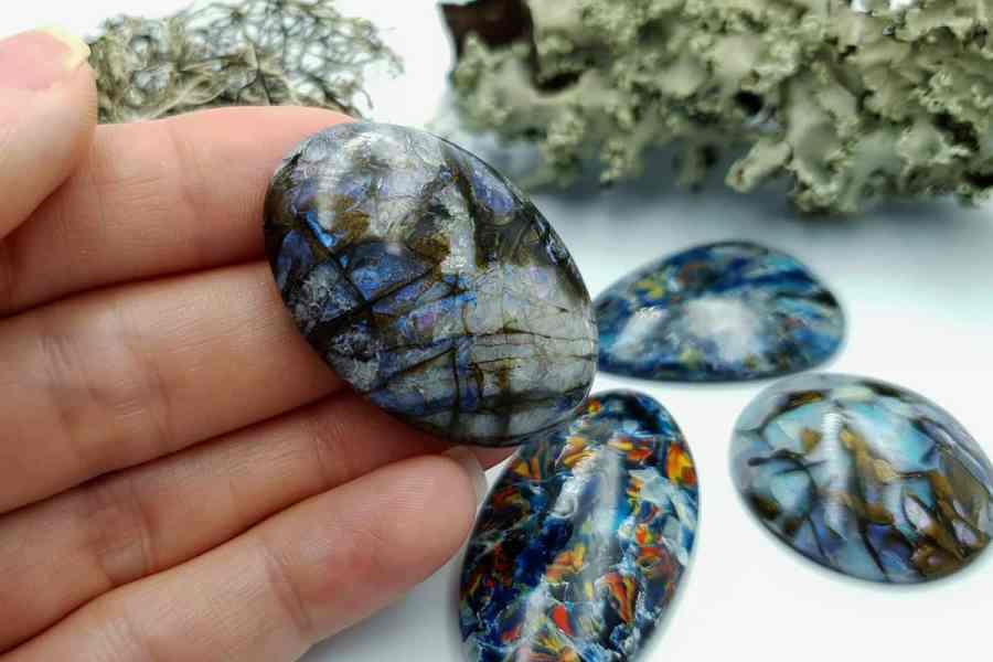 Labradorite Pietersite Stone Mix 20191006_135711