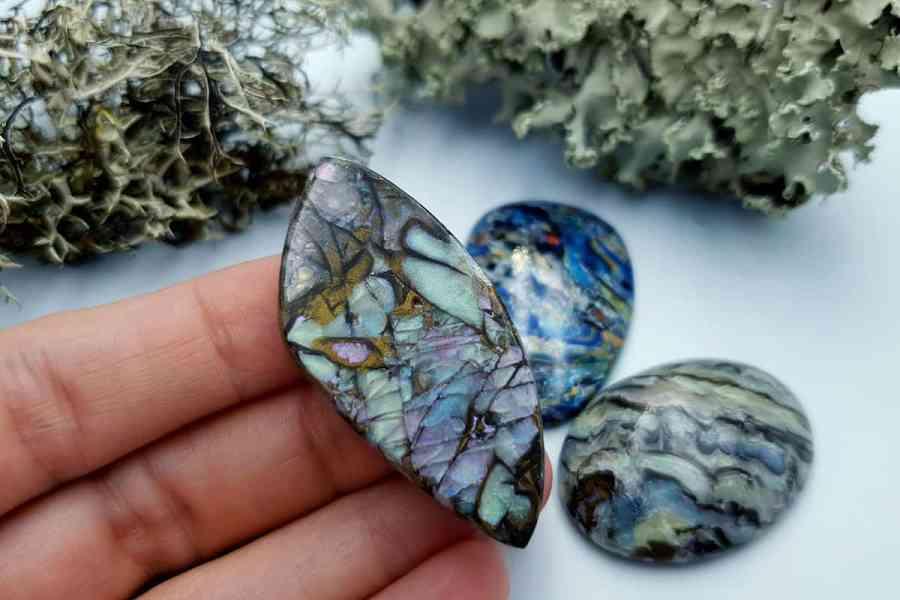 Labradorite Pietersite Stone Mix 20191006_140408