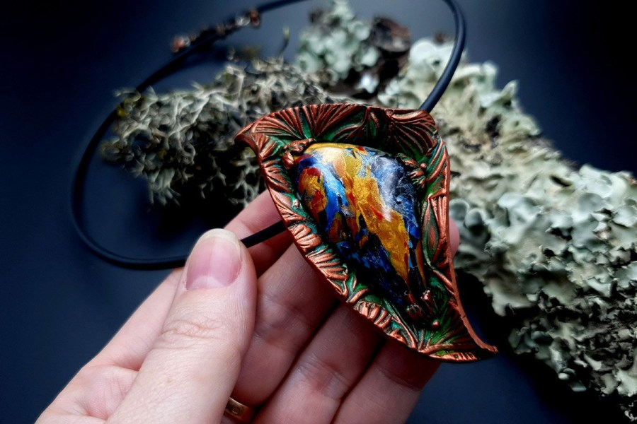 Polymer Clay Necklace 20191009_200631