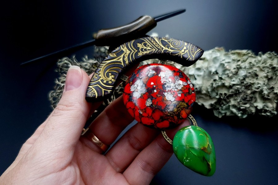 Polymer Clay Necklace 20191009_201840