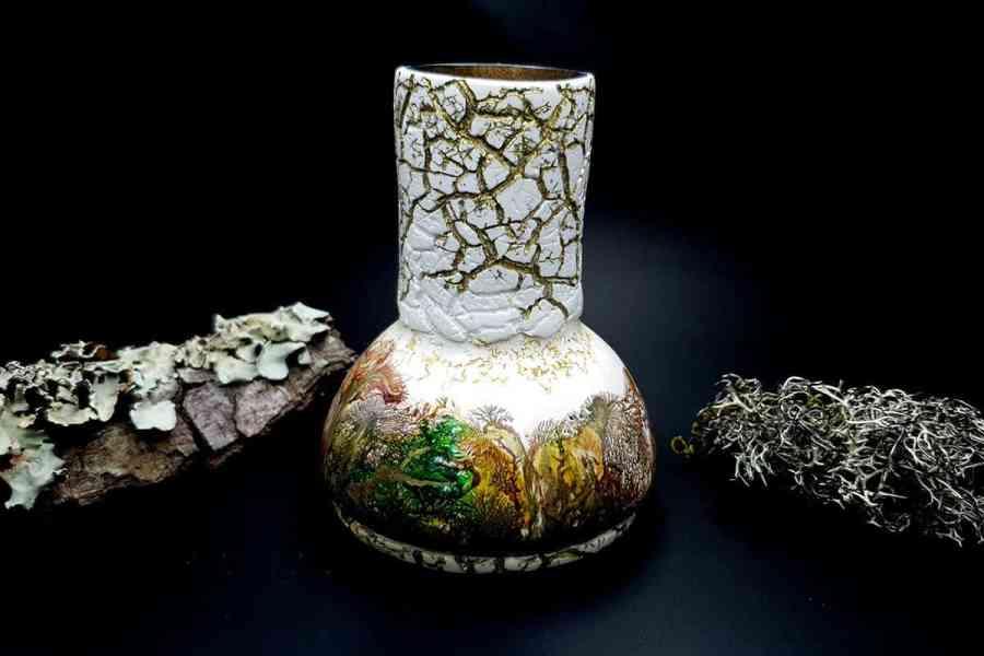 Polymer Clay Vase 20191012_211532