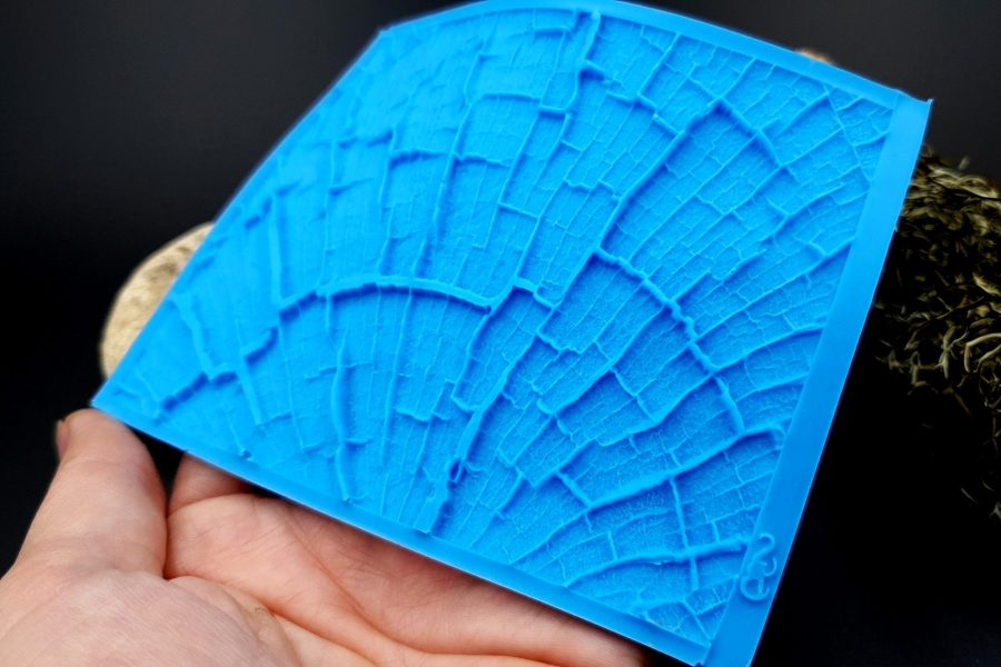 Silicone Texture Cracked Wood - 110x85mm 8