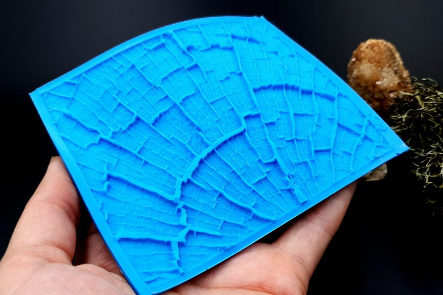 Silicone Texture Cracked Wood - 110x85mm 7