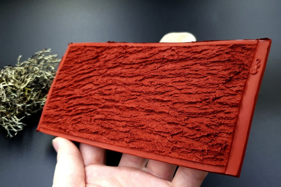 Silicone Texture Bark of Thai Pine Tree #2 - 155x75mm 11